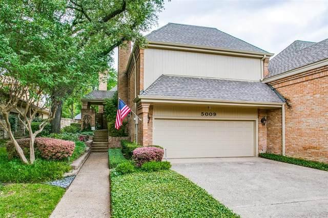 5009 Village Court, Dallas, TX 75248 (MLS #14351193) :: The Good Home Team