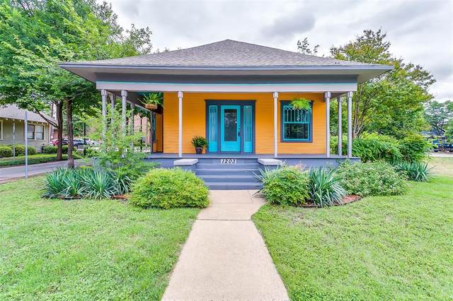 1203 7th Avenue, Fort Worth, TX 76104 (MLS #14351516) :: North Texas Team | RE/MAX Lifestyle Property