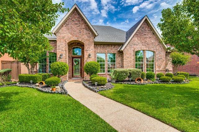 1164 Patch Grove Drive, Frisco, TX 75033 (MLS #14351528) :: Robbins Real Estate Group