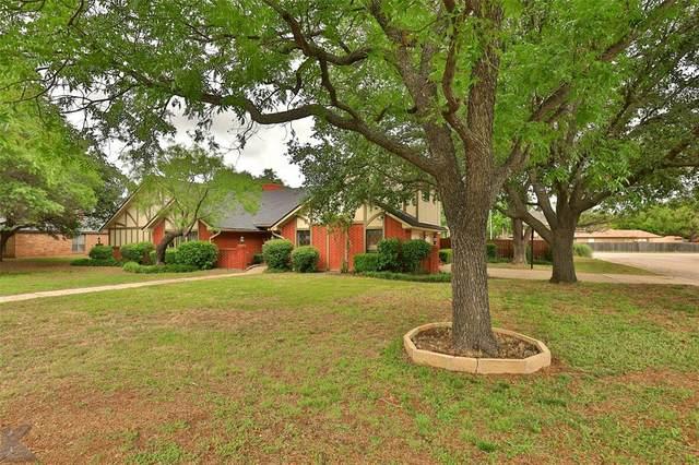 1202 Canterbury Drive, Abilene, TX 79602 (MLS #14351566) :: Baldree Home Team
