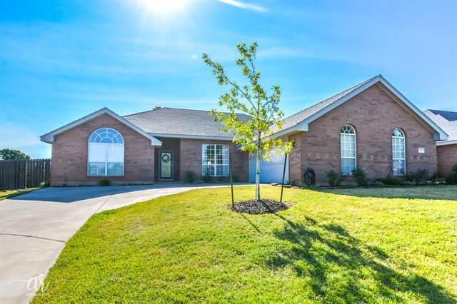 5337 Willow Ridge Road, Abilene, TX 79606 (MLS #14351608) :: The Chad Smith Team