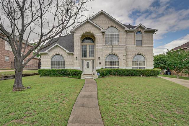869 Raintree Lane, Desoto, TX 75115 (MLS #14351609) :: The Mauelshagen Group