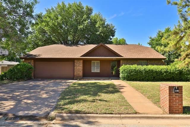 2825 Button Willow Avenue, Abilene, TX 79606 (MLS #14351644) :: The Chad Smith Team