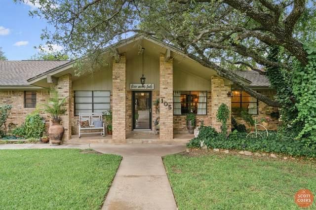105 Brentwood Drive, Brownwood, TX 76801 (MLS #14351721) :: The Heyl Group at Keller Williams