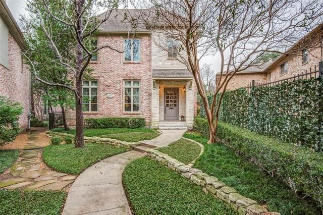 3827 Hawthorne Avenue, Dallas, TX 75219 (MLS #14351880) :: Baldree Home Team