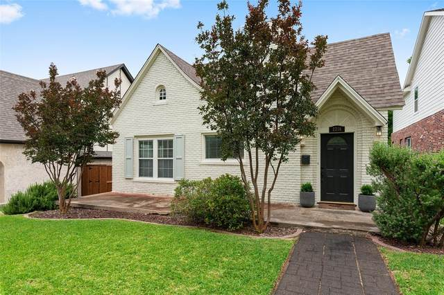 2216 Hillcrest Street, Fort Worth, TX 76107 (MLS #14351928) :: The Chad Smith Team