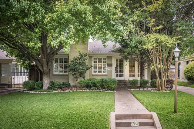 6023 Monticello Avenue, Dallas, TX 75206 (MLS #14351955) :: The Kimberly Davis Group