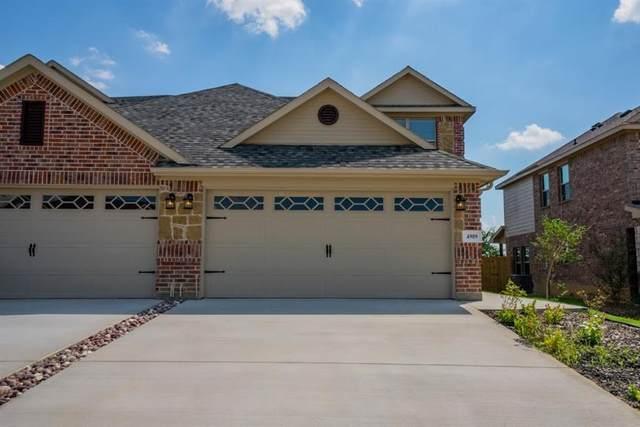 4909 Villas Drive, Sanger, TX 76266 (MLS #14352002) :: Baldree Home Team
