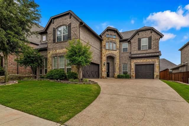 9109 Courtney Lane, Lantana, TX 76226 (MLS #14352108) :: Team Hodnett