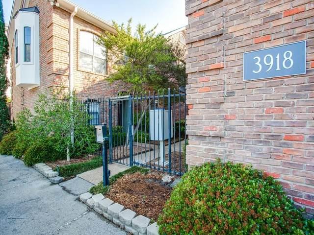 3918 Holland Avenue #204, Dallas, TX 75219 (MLS #14352109) :: Real Estate By Design