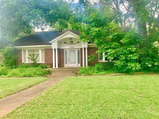 4326 Avondale Avenue, Dallas, TX 75219 (MLS #14352185) :: Real Estate By Design