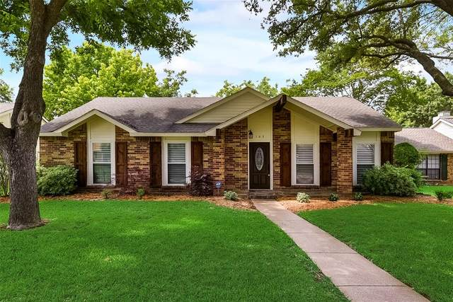 105 Rustic Ridge Drive, Garland, TX 75040 (MLS #14352213) :: The Good Home Team