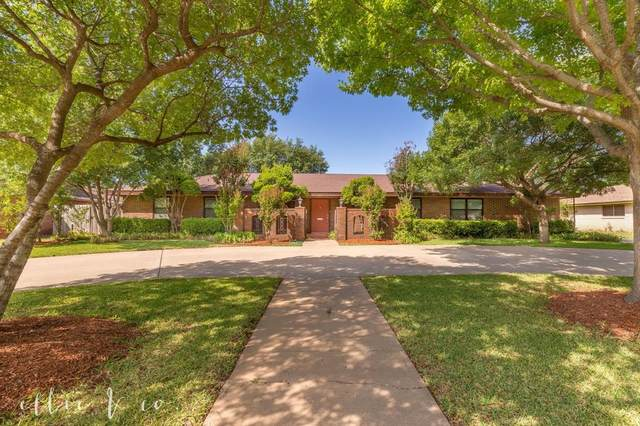2326 Brookhollow Drive, Abilene, TX 79605 (MLS #14352284) :: The Tierny Jordan Network