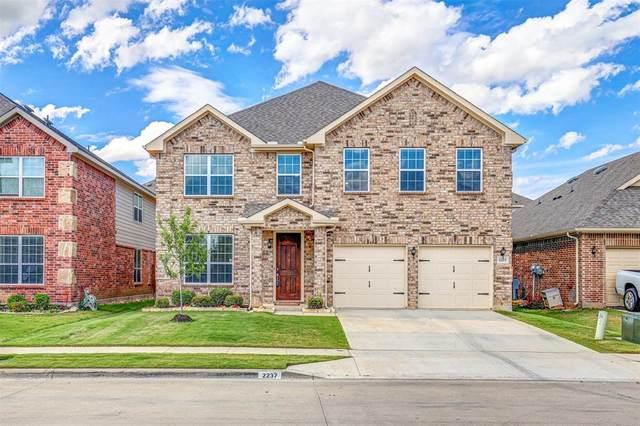 2237 Juarez Drive, Fort Worth, TX 76177 (MLS #14352473) :: Team Hodnett