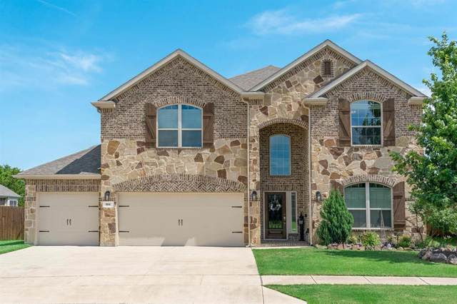 166 Balfour Drive, Fate, TX 75189 (MLS #14352500) :: The Welch Team