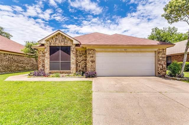 603 Eagle Trace Drive, Arlington, TX 76018 (MLS #14352518) :: Team Hodnett