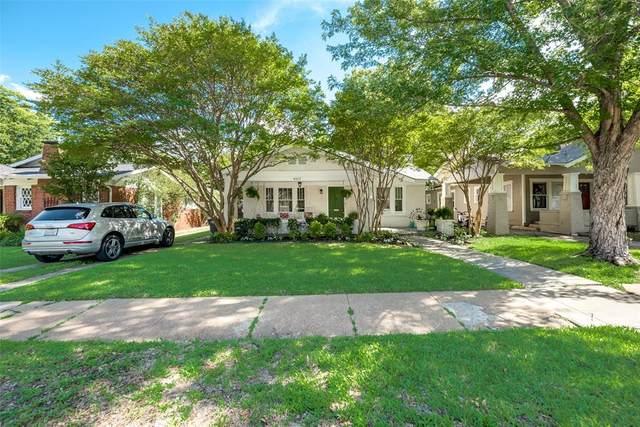4611 Pershing Avenue, Fort Worth, TX 76107 (MLS #14352667) :: The Heyl Group at Keller Williams