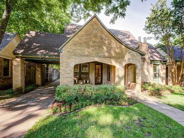 427 Monte Vista Drive, Dallas, TX 75223 (MLS #14352911) :: The Kimberly Davis Group