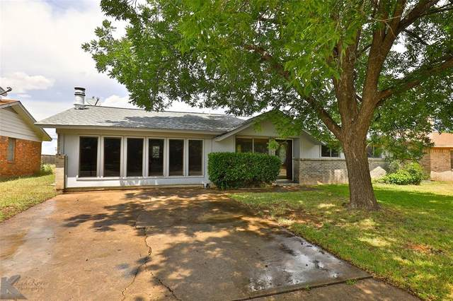 2526 Robertson Drive, Abilene, TX 79606 (MLS #14352914) :: The Kimberly Davis Group