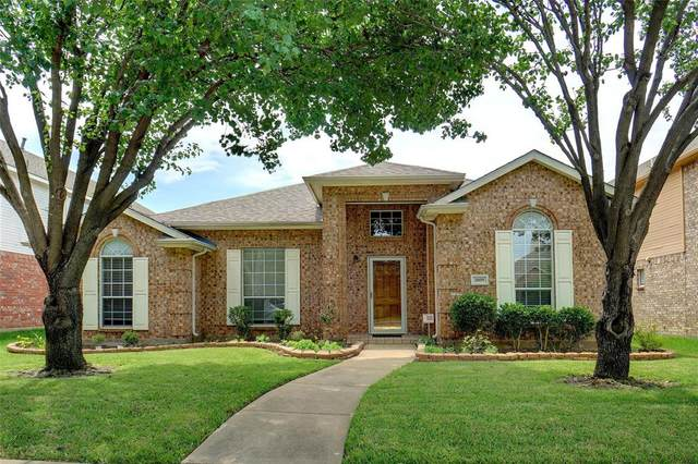 3809 Acacia Trail, The Colony, TX 75056 (MLS #14353049) :: The Hornburg Real Estate Group
