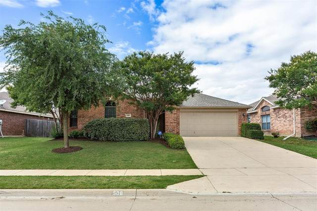 508 Crown Oaks Drive, Fort Worth, TX 76131 (MLS #14353413) :: All Cities USA Realty