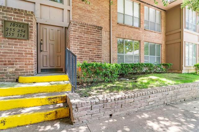 10566 High Hollows Drive #154, Dallas, TX 75230 (MLS #14353688) :: Front Real Estate Co.