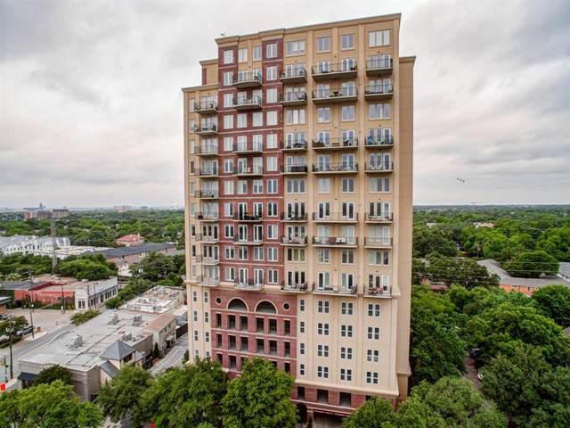 4611 Travis Street 1102A, Dallas, TX 75205 (MLS #14353759) :: Frankie Arthur Real Estate