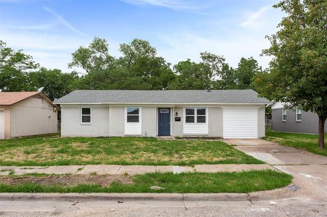 2607 Emerald Drive, Mesquite, TX 75150 (MLS #14353825) :: All Cities USA Realty
