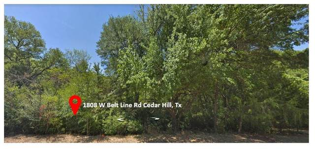 1808 W Belt Line Road, Cedar Hill, TX 75104 (MLS #14353874) :: The Rhodes Team