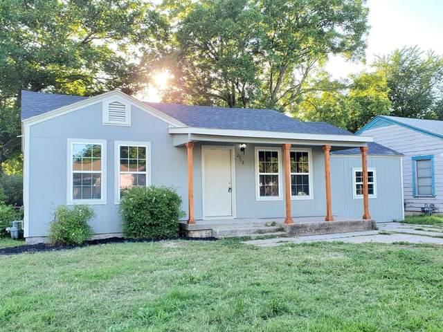 2712 Vogt Street, Fort Worth, TX 76105 (MLS #14353936) :: Front Real Estate Co.