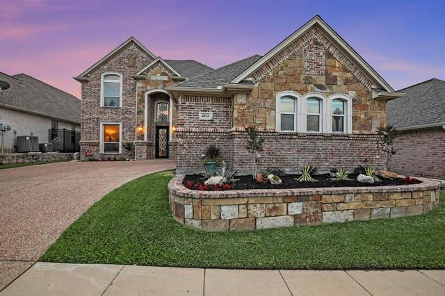 4836 Ridge Circle, Benbrook, TX 76126 (MLS #14353958) :: Tenesha Lusk Realty Group