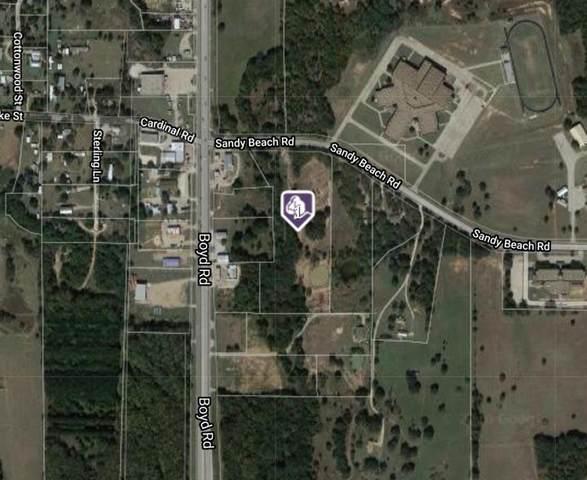 150 Sandy Beach Road, Azle, TX 76020 (MLS #14353997) :: The Mauelshagen Group