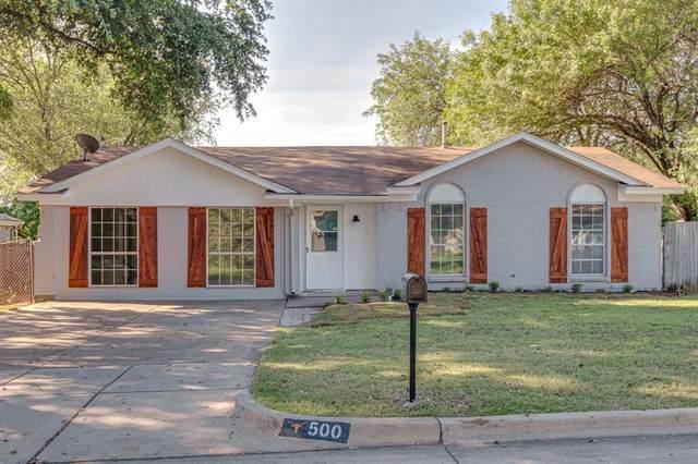 500 Mockingbird Drive, Mansfield, TX 76063 (MLS #14354009) :: The Kimberly Davis Group