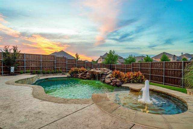 5190 Highland Hills Drive, Frisco, TX 75036 (MLS #14354151) :: The Rhodes Team