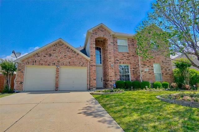 850 Dalmalley Lane, Coppell, TX 75019 (MLS #14354272) :: Century 21 Judge Fite Company