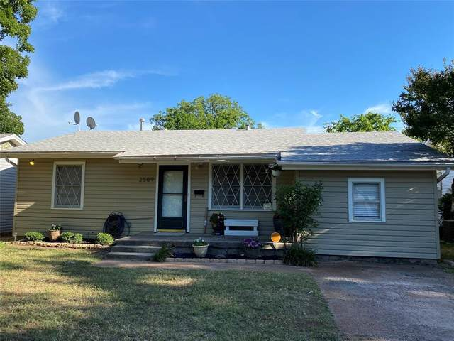 2509 S 25th Street, Abilene, TX 79605 (MLS #14354290) :: The Kimberly Davis Group