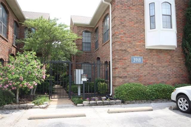 3918 Holland Avenue #104, Dallas, TX 75219 (MLS #14354338) :: Real Estate By Design