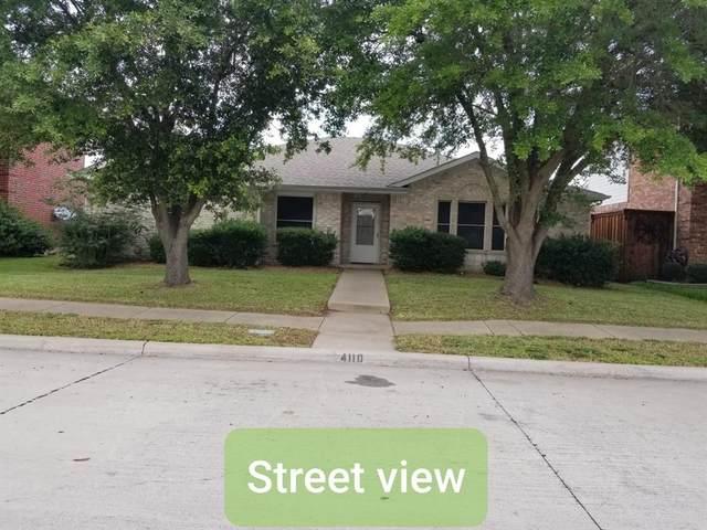 4110 Evinrude Drive, Rowlett, TX 75088 (MLS #14354443) :: The Hornburg Real Estate Group