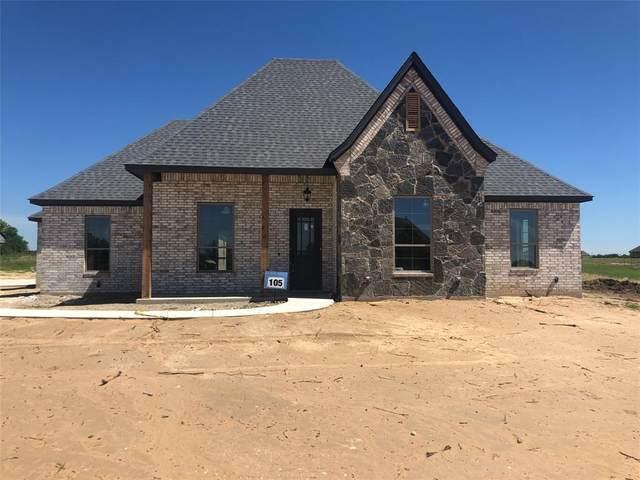 105 North Ridge Court, Weatherford, TX 76088 (MLS #14354503) :: The Hornburg Real Estate Group