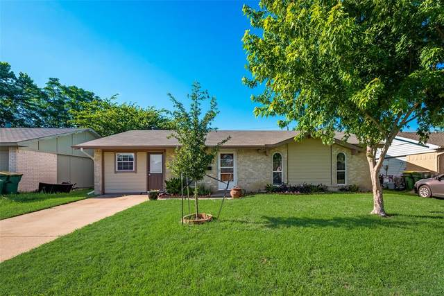 1037 Hillwood Drive, Lewisville, TX 75067 (MLS #14354629) :: Century 21 Judge Fite Company