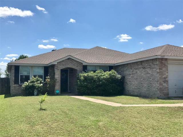 1405 Blazing Star Trail, Burleson, TX 76028 (MLS #14354859) :: All Cities USA Realty