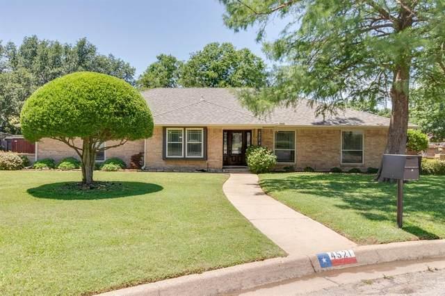 4521 Diamond Loch N, North Richland Hills, TX 76180 (MLS #14354861) :: The Hornburg Real Estate Group