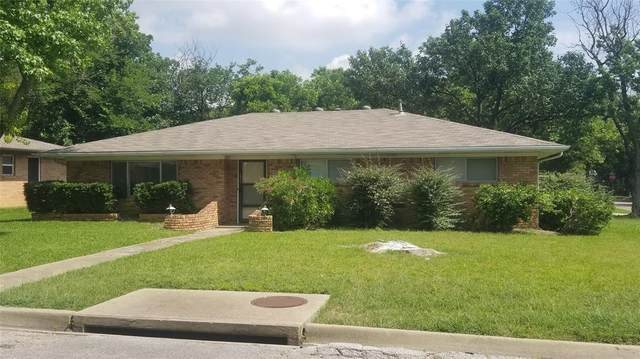 1800 Crescent Street, Denton, TX 76201 (MLS #14354965) :: The Mauelshagen Group