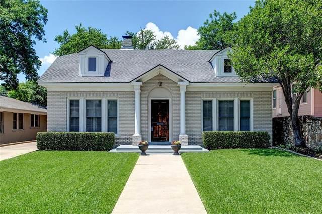 1412 Virginia Place, Fort Worth, TX 76107 (MLS #14355028) :: Team Tiller