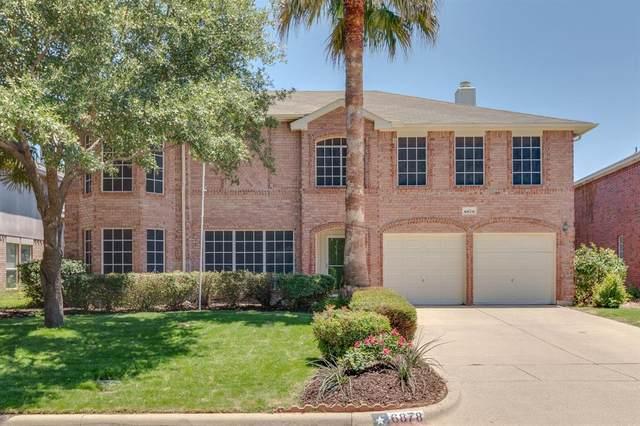 6878 Genevieve Drive, Fort Worth, TX 76137 (MLS #14355292) :: The Mauelshagen Group