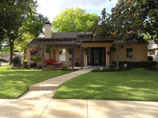 907 Washington Terrace, Fort Worth, TX 76107 (MLS #14355435) :: Keller Williams Realty