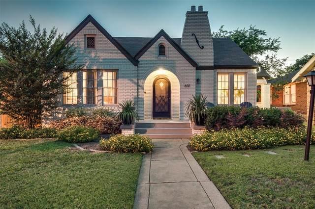 601 N Montclair Avenue, Dallas, TX 75208 (MLS #14355531) :: The Good Home Team