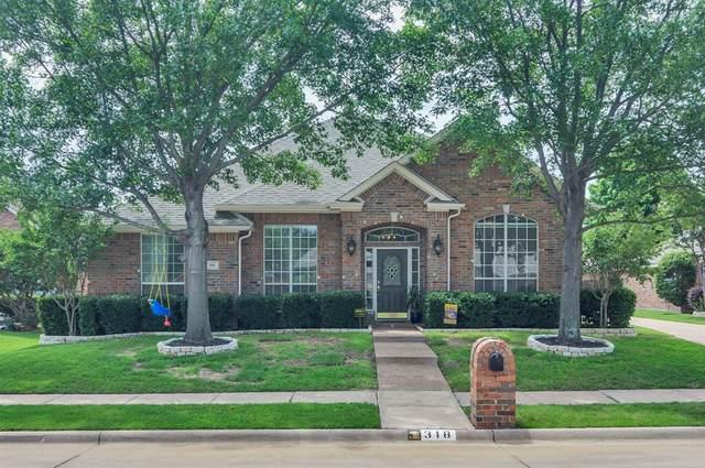 318 Longview Drive, Keller, TX 76248 (MLS #14355702) :: Justin Bassett Realty