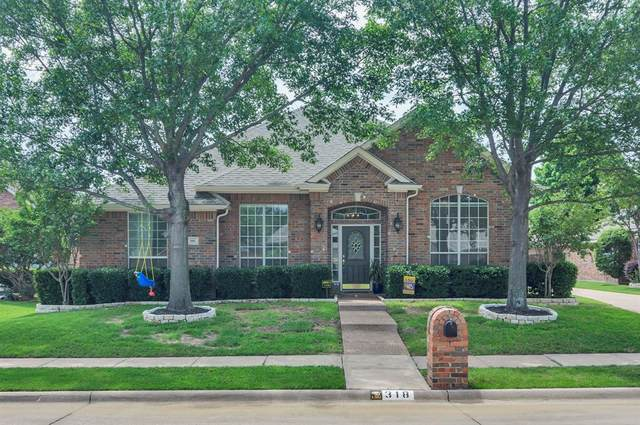 318 Longview Drive, Keller, TX 76248 (MLS #14355702) :: The Kimberly Davis Group
