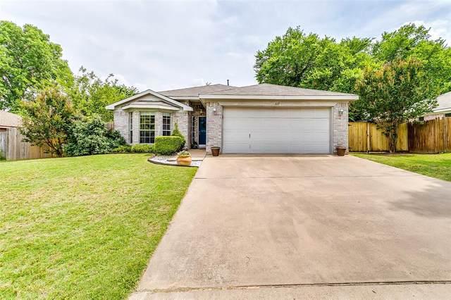 317 Sweetwater Drive, Weatherford, TX 76086 (MLS #14355734) :: Team Hodnett
